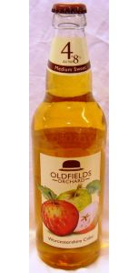 Oldfields Orchard - Medium Sweet 4.8% - Cider and Perry - M&M Personal Vintners Ltd