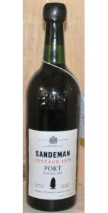Sandeman Vintage Port - 1970 (excellent condition) - Port Wines - Port & Sherry - M&M Personal Vintners Ltd
