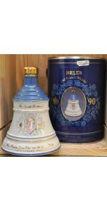 Bell's - Ceramic bell decanter - Blend - Queen Mother 1990 - 700 ml - 40% vol - Whiskey - M&M Personal Vintners Ltd
