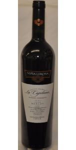 La Capitana Vina la Rosa Reserva Merlot - Cachapaol Valley - 2012 - Red Wines - Chilean Wines - Wines - M&M Personal Vintners Ltd