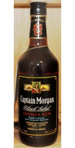 Captain Morgan Black Label Rum 26 2/3 Fl. oz 70° (40%, 757ml) - Liqueurs - Spirits - M&M Personal Vintners Ltd