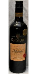 Rietvallei Estate Red Muscadel - Cape Town - 17% - 2015 - Red Wines - South African Wines - Wines - M&M Personal Vintners Ltd