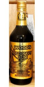 Wood's Navy Rum 26 2/3 Fl. oz 70° (40%, 757ml) - Liqueurs - Spirits - M&M Personal Vintners Ltd