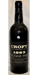 Croft - Vintage Port - 1963 - Port Wines - Port & Sherry - M&M Personal Vintners Ltd