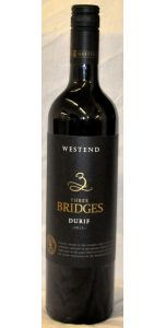 Westend Estate Bridges - Durif - New South Wales - 2012 - Red Wines - Australian Wines - Wines - M&M Personal Vintners Ltd