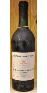 Graham's Vintage Port 1963 - Port Wines - Port & Sherry - M&M Personal Vintners Ltd