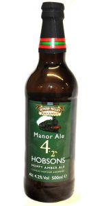 Manor Ale - 4.2% - 50cl - British Beers - Beer - M&M Personal Vintners Ltd