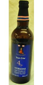 Town Crier - 4.5% - 50cl - British Beers - Beer - M&M Personal Vintners Ltd