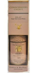 Ardbeg - 1975 - Connoisseurs Choice - Isaly - 23 year old bottled 1998 - 40% vol - Whiskey - M&M Personal Vintners Ltd