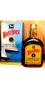 White Horse - America's Cup - 1987 Limited Edition Special Blend - 40% vol - 750 ml - Whiskey - M&M Personal Vintners Ltd