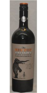 The Big Top Zinfandel - California - 2015 - Red Wines - American Wines - Wines - M&M Personal Vintners Ltd