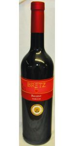 Ernst Bretz - Regent Rotwein - Qba - 2015 - Red Wines - German Wines - Wines - M&M Personal Vintners Ltd