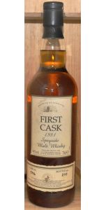 Glenallachie - First Cask 1981 - Speyside - 22 year old 46% vol - Whiskey - M&M Personal Vintners Ltd