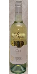 Richland Pinot Grigio - New South Wales 2015 - Australian Wines - Wines - M&M Personal Vintners Ltd