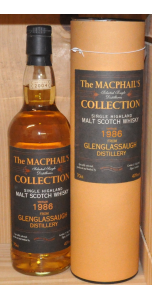 Glenglassaugh - The Macphail's collection - 1986 - Highland - 40% vol