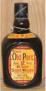 Grand Old Parr - 12 year old - Deluxe blend - 750ml - 40% vol