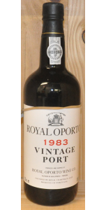 Royal Oporto Vintage Port - 1983 - Port Wines - Port & Sherry - M&M Personal Vintners Ltd