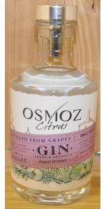 Vallet - Osmoz Citrus Gin 46% (700ml)