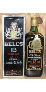Bell's - 12 years old- 750ml - 40% vol - Whiskey - M&M Personal Vintners Ltd