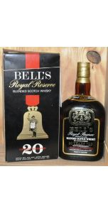 Bell's - Royal Reserve - 20 years old Blended - ('26.5 ozs.') 750ml - % vol - Whiskey - M&M Personal Vintners Ltd