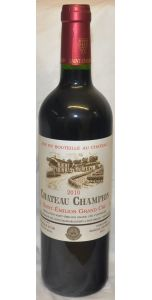 Château Champion - A/C Saint-Emilion Grand Cru - 2012 - Red Wines - Bordeaux Wines - French Wines - Wines - M&M Personal Vintners Ltd