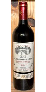 Château La Commanderie de Queyret - A/C Bordeaux Supérieur - 2014 - Red Wines - Bordeaux Wines - French Wines - Wines - M&M Personal Vintners Ltd