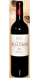 Château De La Croix - A/C Medoc - Cru Bourgeois - 2010 - Red Wines - Bordeaux Wines - French Wines - Wines - M&M Personal Vintners Ltd