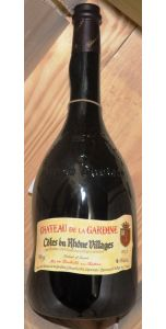 Chateau de la Gardine - Côtes du Rhône Villages - 2014. Magnum 1500ml - 14% - Magnum - French Wines - Wines - M&M Personal Vintners Ltd