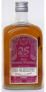 """1952 - 1977 The Glenlivet 25 Year Old """" The Queen's Silver Jubilee"""" - Whiskey - M&M Personal Vintners Ltd"""