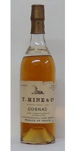 1956 Hine & Co. Grande Champagne Cognac Landed May 1957 and Bottled 1972 - Cognac Spirits - Spirits & Liqueurs - M&M Personal Vintners Ltd