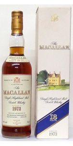 1973 The Macallan 18 Year Old - Whiskey - M&M Personal Vintners Ltd