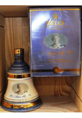 Bell's - Ceramic bell decanter - Blend - 100 years Queen Mother - 700 ml - 40% vol - Whiskey - M&M Personal Vintners Ltd
