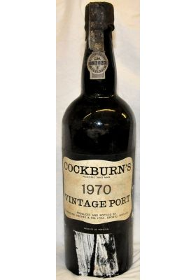 Cockburn's Vintage Port 1970 - Port Wines - Port & Sherry - M&M Personal Vintners Ltd