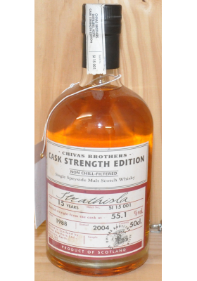 Chivas Brothers Cask Strength Edition - Strathisla 15 years - 1988 - 55.1% - 500ml