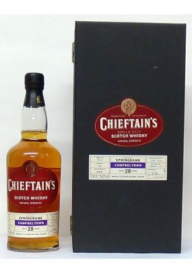 1974 Springbank 28 Year Old, Distilled July 1974, Bottled March 2003, Oloroso cask finish, 56% abv Chieftain's Single Malt Whisky - M&M Personal Vintners Ltd