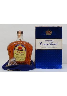 1962 Seagram's Crown Royal In Original Box and Glass Stopper Whisky Canadian - Canadian Whiskey - Whiskey - M&M Personal Vintners Ltd